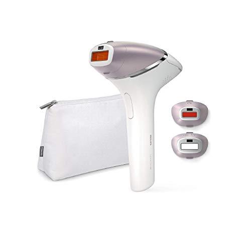Philips Lumea Prestige IPL Haarentfernungsgerät BRI954 - Lichtbasierte, schmerzlose Haarentfernung für eine dauerhaft glatte Haut - inkl. 3 spezieller Aufsätze für Körper, Gesicht, Bikini-Zone