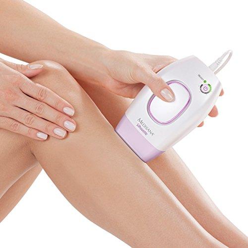 Medisana IPL 800 Haarentfernungsgerät - Lichtbasierte Haarentfernung für dauerhaft glatte Haut - Haarreduzierung mit 100.000 Lichtimpulsen - Epiliergerät mit 5 Intensitätsstufen - 88580
