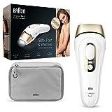 Braun Silk-Expert Pro 5 PL5014 IPL-Haarentfernungsgerät – Dauerhafte Haarentfernung für Körper und Gesicht, weiß/gold