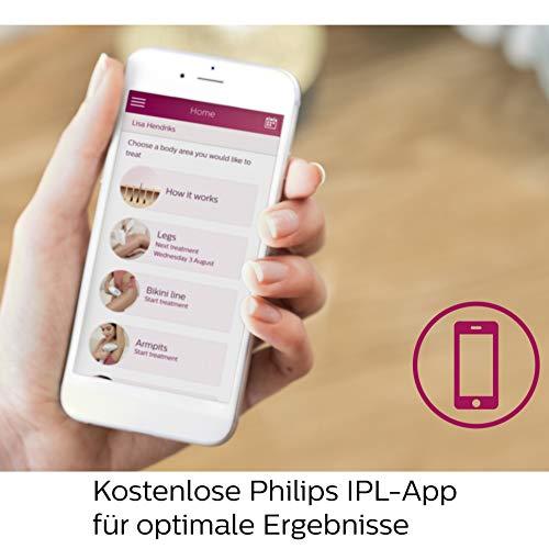 Philips Lumea Prestige IPL Haarentfernungsgerät BRI956 – Lichtbasierte, kabellose Haarentfernung für dauerhaft glatte Haut - inkl. 4 spezieller Aufsätze für Körper, Gesicht, Bikini-Zone & Achseln