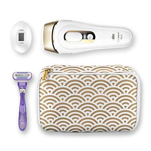 Braun Silk-Expert Pro 5 PL5137 IPL Haarentfernungsgerät für dauerhaft sichtbare Haarentfernung, für Körper und Gesicht, Präzisionsaufsatz für empfindlichere Bereiche