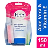 Veet In-Shower Haarentfernungscreme Sensitive, 150ml