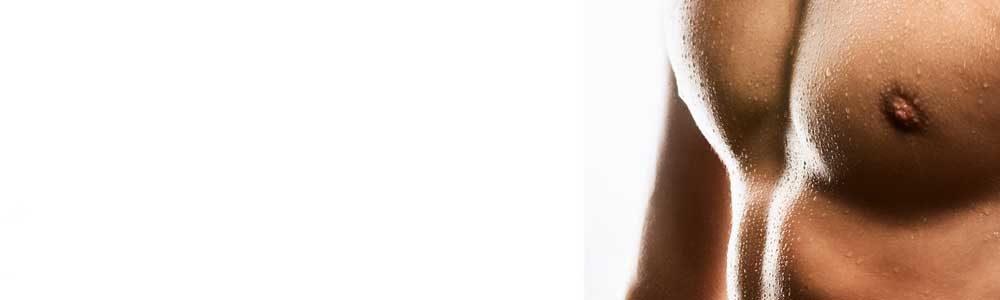 Mann Oberkörper IPL Haarentfernung
